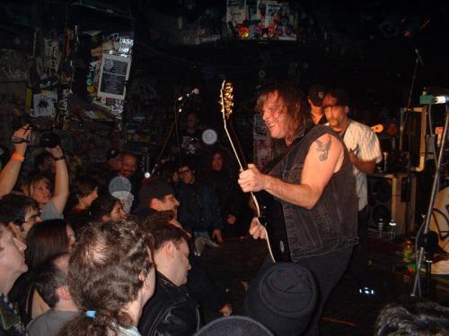 Ross at CBGB