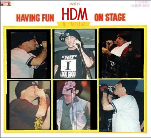 Having Fun With HDM On Stage