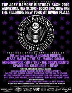 Joey Ramone Birthday Bash 2010