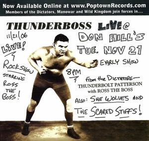 Thunderboss Don Hill's poster