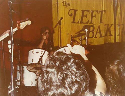 Rich Teeter performs at the Left Bank in 1980