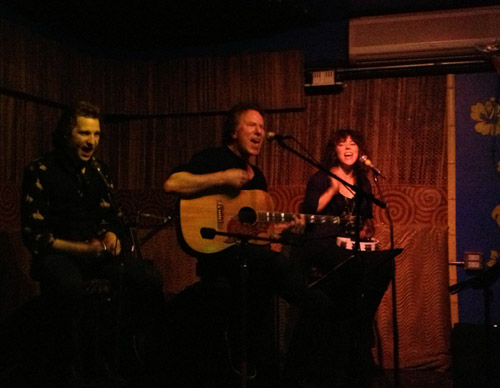 Andy Shernoff at Otto's Shrunken Head