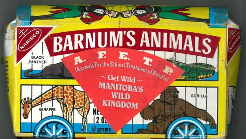Manitoba's Wild Kingdom Animal Crackers