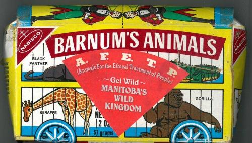 Manitoba's Wild Kingdom Animal Crackers